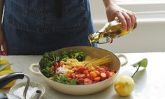 No fuss, one pan and a killer bowl of pasta. From A Modern Way To Cook, by Anna Jones