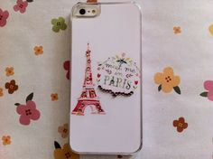 New Chic Glam Cute Bling Meet Me In Paris Red Eiffel by Mobimoda, $19.99