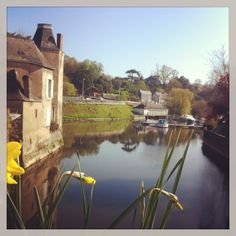 #sunday #morning by the #river in #segré #france