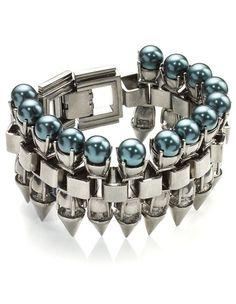 hematite pearl claw bracelet by Mawi