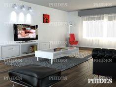 Living room 2 | 3D Model Interior design modern luxury