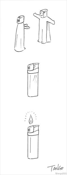 Simple and Witty Illustrated Comics by Shanghai Tango , http://photovide.com/tango-comics/