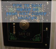 Tips to help you save on your next Disney vacation :)