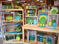 Fiestaware color combo | The Cupboard in Fort Collins, Colorado