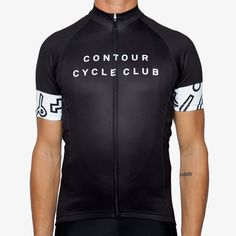 Men s Shapes and Squiggles Jersey Cycling Outfit 1ff7cc275
