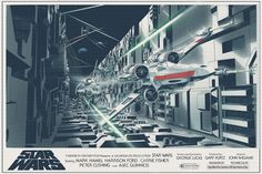 Star Wars Original Trilogy Posters - Created by Nicolas Alejandro Barbera