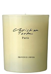 Christian Tortu - Provence l'Hiver Candle at Aedes.com