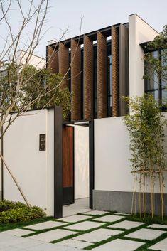 Villa Design, Modern House Design, Minimalist House Design, Singapore Architecture, Architecture Résidentielle, Contemporary Architecture, Tropical Architecture, Design Exterior, Facade Design
