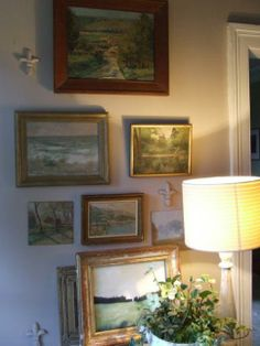 french paintings - taking time to observe   MY FRENCH COUNTRY HOME