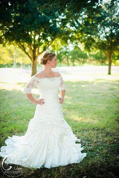 Bridal Portrait  College Station Wedding Photographer  http://carolineannphotography.com