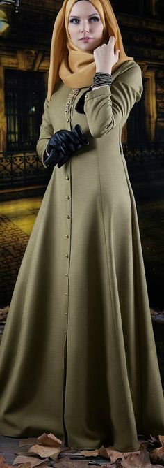 Muslima Wear Tesettür Elbise Islamic Fashion, Muslim Fashion, Modest Fashion, Fashion Outfits, Cool Summer Outfits, Girly Outfits, Casual Outfits, Winter Outfits, Hijab Abaya