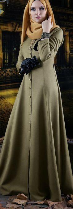 Muslima Wear Tesettür Elbise