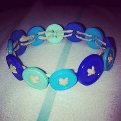 $3 Button bracelet #bracelet #buttons #etsy #hemp