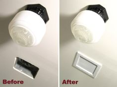 Bathroom accessories on pinterest light bathroom for 9 bathroom fan cover