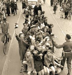 May, 1945, Liberation of The Netherlands by Canadian Troops. Thank you, Canada! ~