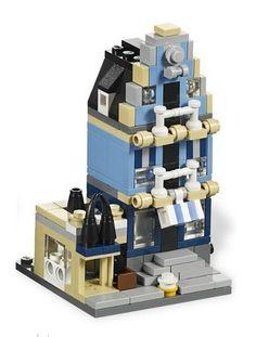 Lego mini modular Market Street