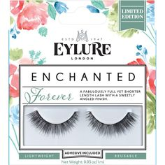 Eylure Enchanted Lashes - Forever ($7.62) ❤ liked on Polyvore featuring beauty products, makeup, eye makeup, false eyelashes, eylure false eyelashes, slant tweezer and eylure