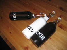painted #homebrew bottles diy