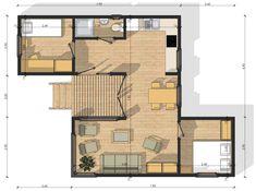 Habitats modulaires :