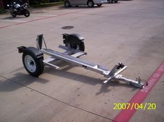 single rail motorcycle trailers - Google Search