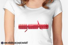 Christmas Cracker Festive Women's T-Shirt http://www.redbubble.com/people/markuk97/works/17941068-christmas-cracker-red?p=womens-fitted-scoop via @redbubble #Christmas #Cracker #RedBubble