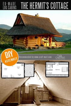 Amazing Fairy Tale-Style Pre-Built Cabins, Kits, and Custom