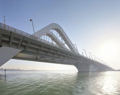 Sheikh Zayed Bridge / Zaha Hadid Architects by Hufton+Crow