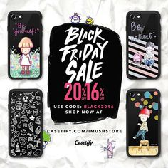. Hey friends!! ⚫️Black Friday starts TODAY and last until Friday!!⚫️ . 16% off all orders over $30 20% off orders over $70 Code : BLACK2016 . Tap the link in bio to shop☺️Enjoy the discount! . . . #imush #casetify #ohyy . . . #illustration #illustrator #doodle #pencil #drawing #sketch #design #art #imushcamera #keepgoing #artist #dream #イラスト #絵 #watercolor #透明水彩 #casetify #phonecase #case #casetifyartist #shipworldwide #freeshipping #blackfridaysale #painting