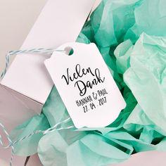 """Gastgeschenke - Hochzeitsstempel """"Vielen Dank"""" - ein Designerstück von hellounique bei DaWanda"""