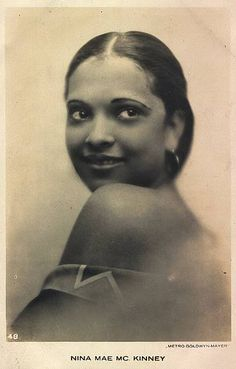 AfricaAmerica stars of the past | Nina Mae Mckinney | One.Love.4.Enemies