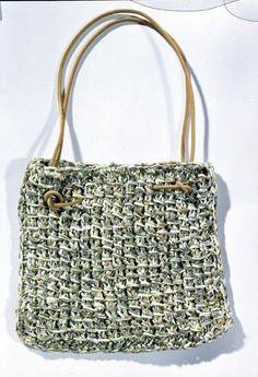 Lavori a maglia: realizziamo la borsa etnica