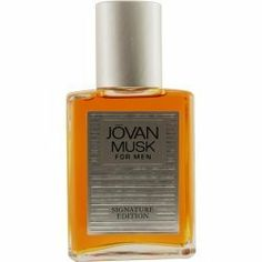JOVAN MUSK by Jovan AFTERSHAVE COLOGNE 4 OZ for MEN by Jovan. $6.95. Recommended Use: romantic. Design House: Jovan. Fragrance Notes: spices, lavender and citrus, a manly aroma.. spices, lavender and citrus, a manly aroma. Year Introduced 1973 Recommended Use romantic. Save 66%!