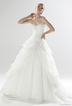 2011 Wedding Dresses from Ellis Bridals London Collection | Wedding Inspirasi