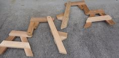 picnic table side assembly photo