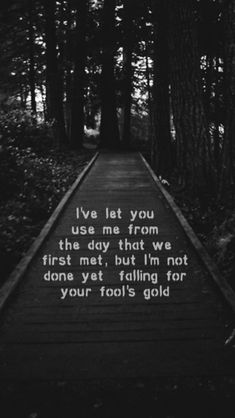 Fools gold lyrics - One Direction One Direction Harry, One Direction Lyrics, One Direction Wallpaper, One Direction Pictures, 1d Quotes, Song Lyric Quotes, 5sos Lyrics, Lyric Art, 1d Songs