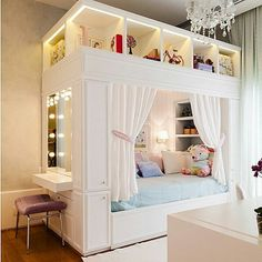 Mädchenzimmer: 75 Mädchenzimmer Ideen mit Fotos Girls room: 75 girls room ideas with photos # Roof sloping paint Related posts: Sewing projects for teens room decor girls bedroom New ideas Light Up Headboard Girl Bedroom Designs, Girls Bedroom, Bedroom Decor, Trendy Bedroom, Preteen Bedroom, Tween Bedroom Ideas, Tween Beds, Teen Girl Bedding, Bedroom Styles