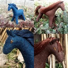 Stuffed Horse, Brown Horse, Waldorf Toys, Felt Patterns, Montessori Toys, Role Play, Beautiful Gifts, Felt Animals, Felt Crafts