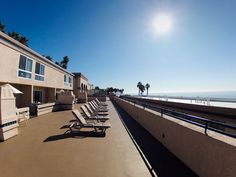 Sundeck of the Southern California Beach Club, to book visit: http://www.resortime.com/resorts/profile.asp?resortid=73 #beach #socal #oceanside #california