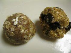 Homemade protein powerballs!