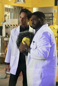 Powerless' Ron Funches Takes Us On A Tour Of Wayne Securities