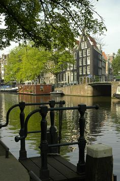 Prinsengracht, Amsterdam, Netherlands. Go to www.YourTravelVideos.com or just click on photo for home videos and much more on sites like this.