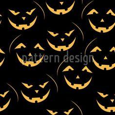 Laughing pumpkin Lantern Repeat Pattern by Lidiebug at patterndesigns.com Vector Pattern, Pattern Design, Halloween Stoff, Halloween Vector, Repeating Patterns, Surface Design, Superhero Logos, Lanterns, Pumpkin