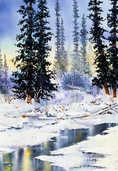 Jack Creek. watercolor