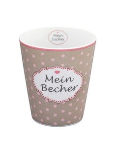 Happy Mug *MEIN BECHER* Krasilnikoff