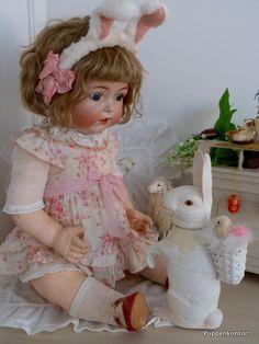 Puppenkontor: Das Osterhasenkind Simon & Halbig 1294