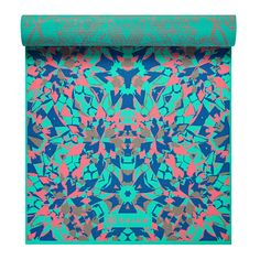 Gaiam Premium Print Reversible Yoga Mat Kaleidoscope 5/6mm * Click image to review more details. (This is an affiliate link)
