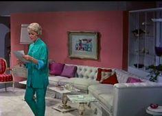 Pillow Talk, 1959- I really want those pajamas.