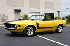 1970 #Boss302 #Mustang convertible! No, not really. It's actually a nice 1970 Mustang with a 5.0L EFI conversion. But it begs the question, how interesting would a Boss convertible have been?