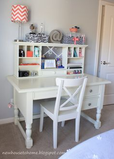 A desk for homework and study's