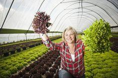 Nina Sorri on puhunut valmiiden, pilkottujen salaattisekoitusten puolesta vuosikaudet. Kuva: TS/Lennart Holmberg.